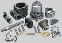 Repair and assistance hydraulic pumps and motors